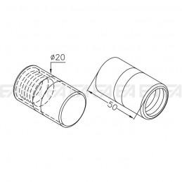 Cilindro VDM08 disegno tecnico