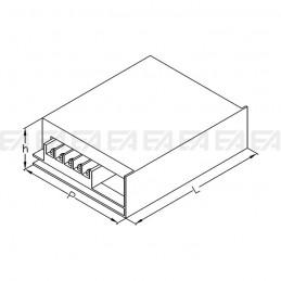 Alimentatore LED ALG024 disegno tecnico