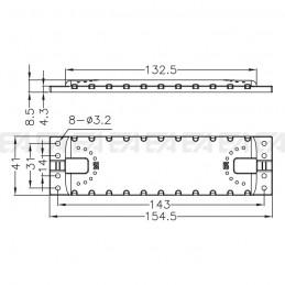 Cover di protezione LL15441.000 disegno tecnico