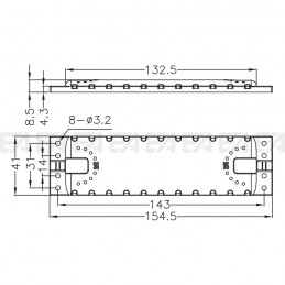 Protection cover LL15441.000 technical drawing