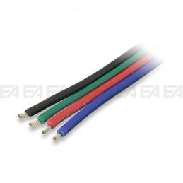 Quadripolar flat cable - PVC