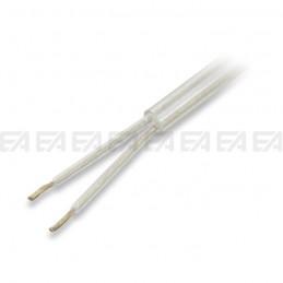 Bipolar round cable - FEP + FEP + PVC