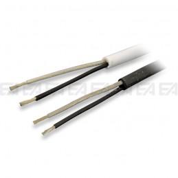 Bipolar round cable - FEP + SILICONE