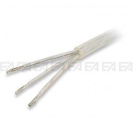 Tripolar round cable - FEP + PVC