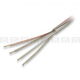 Quadripolar round cable - FEP + PVC