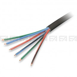 Multipolar round cable - PVC + PVC