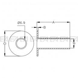 Passacavo 0001.006/007 disegno tecnico