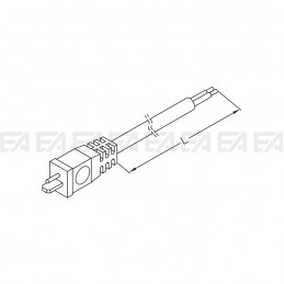 Bipolar round cable CAV017 technical drawing