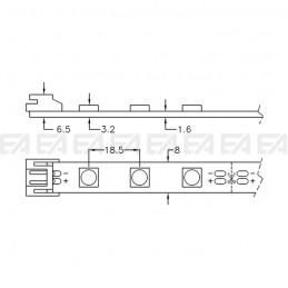 LED board STR0305050R technical drawing