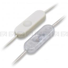Interruttore elettronico INT06 bianco e trasparente