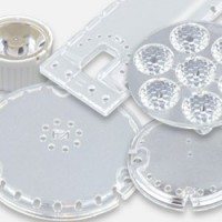 Lenses, opal or transparent PC protection covers, collimators