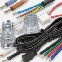 Cable, cable clamp, junction box, connectors and terminal