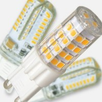 G9 LED bulbs with silicone cap