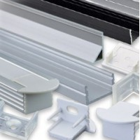 Aliminium profiles and accessories