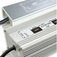 Waterproof LED power supplies, with IN/OUT cables