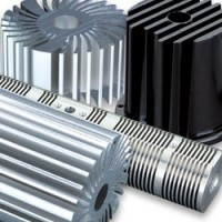 Aluminium heatsink and aluminium heatsink holder