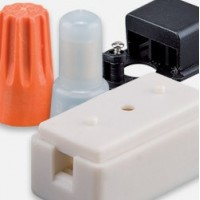 Plastic protection boxes and electric terminals