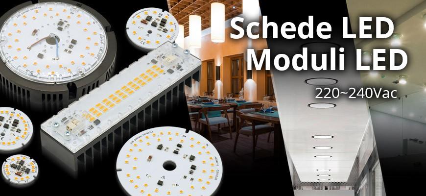 Schede e Moduli LED 220-240Vac