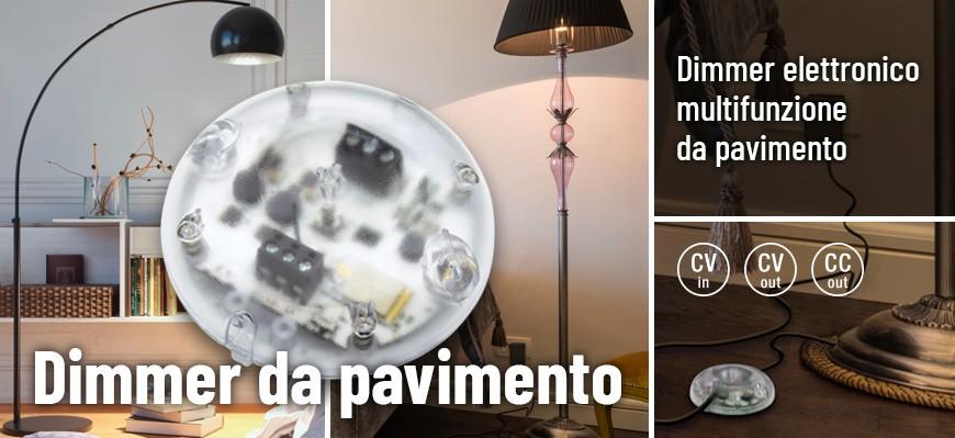 Dimmer elettronico multifunzione da pavimento