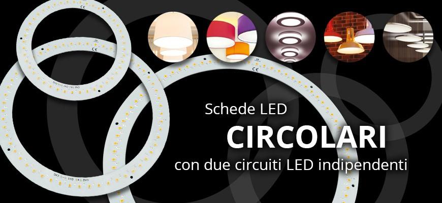 Schede LED circolari