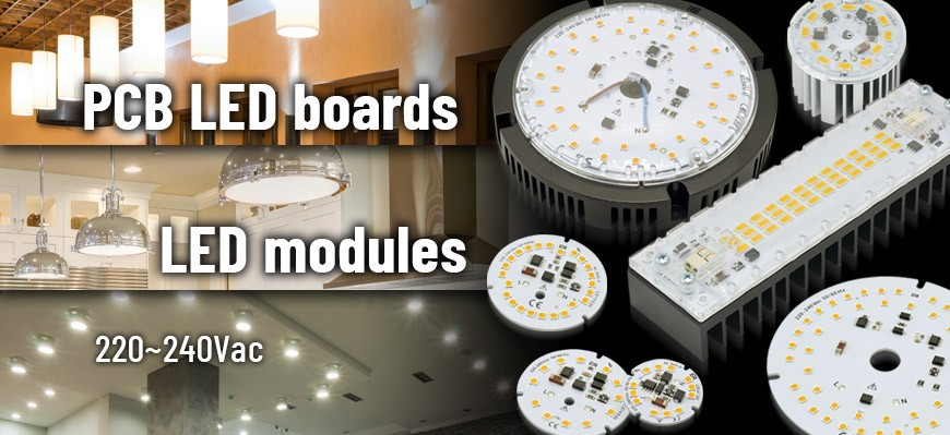 220-240Vac LED modules