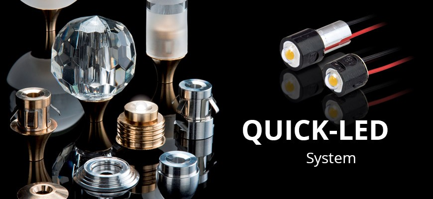 QUICK-LED system and accessories