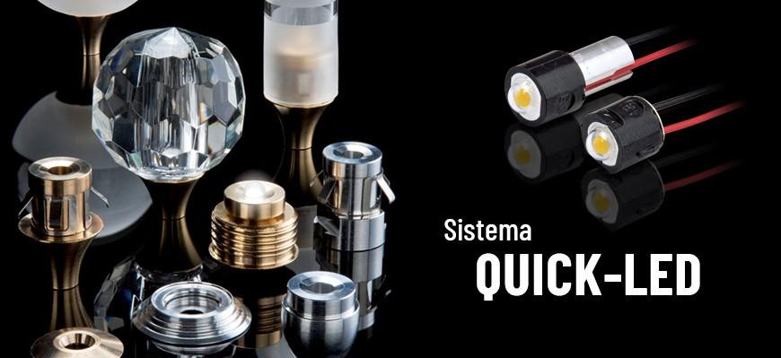 Sistema QUICK-LED e accessori